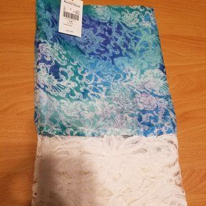 NWT Northern Reflections Blue Lacey Infinity Scarf